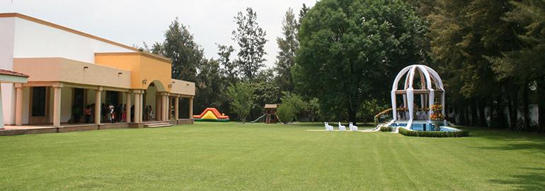 Instalaciones olimpo for Alma de agua jardin de eventos
